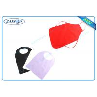 Buy cheap Colorful Disposable Bib and Apron Polypropylene Non Woven Fabric For Household , Medical from wholesalers