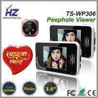 Buy cheap remote unlocking 3.5''touch screen high resolution 2.4GHz wireless door viewer peephole from wholesalers