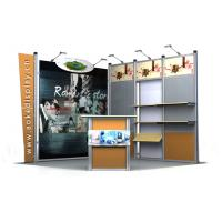 Buy cheap Trade Show Exhibition Booth Display , Custom Truss Frame Graphic Booth from wholesalers