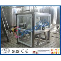 Buy cheap SUS304 Pasteurized Butter Making Equipment for Milk Production Line ISO9001 / CE / SGS from wholesalers