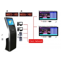 Buy cheap Multiple Service Selection Free Stand Queue Token Management System from wholesalers