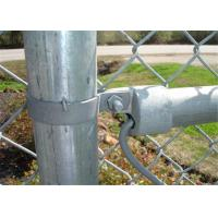 Buy cheap Chain wire Fence for sale 65MM X 65MM X 4.00MM black powder  coated from wholesalers