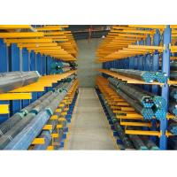 Buy cheap Heavy Duty Industrial Cantilever Pallet Racking For / Timber /  Lumber / Long Pipes from wholesalers