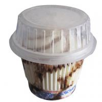 Buy cheap 170ml Disposable Ice Cream Cups / PET Clear Plastic Sundae Cups With Lids from wholesalers