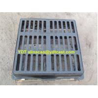 Buy cheap Ductile Iron Gully Grating for municipal drainage; Black bitumenous product