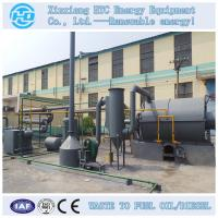 Buy cheap used tire pyrolysis oil equipment from wholesalers
