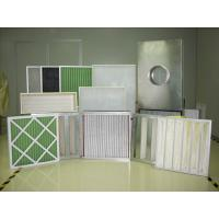 Buy cheap HVAC Fine filtration synthetic bag filter/bag air filter/pocket air filter F5;F6;F7;F8;F9 from wholesalers