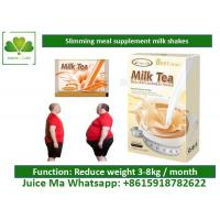 Milk Tea Meal Replacement Milkshakes , Natural Healthy Weight Loss Shakes