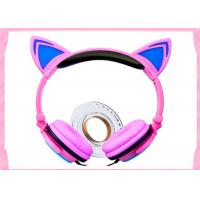 Buy cheap high quality and cheap price Noise cancelling headphone kids hot cat ear headset fashion cat headphones L107 from wholesalers
