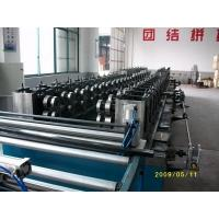 Buy cheap Seperate Pressing Punching Cable Tray Manufacturing Machine With Servo Guiding from wholesalers
