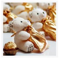 Buy cheap New creative promotion gift product wedding gift plush bear candy bag organizer from wholesalers