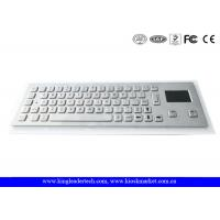 Buy cheap Dust-proof And Liquid-Proof Panel Mount Industrial Kiosk Touchpad Keyboard from wholesalers