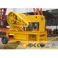 Buy cheap Gold Rock Stone Mini 16 TPH 20 TPH Jaw Crusher Machine from wholesalers