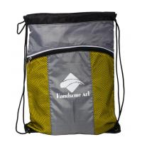 Buy cheap Custom Cheap Promotional Polyester Fabric Drawstring Bag-HAD14016 product