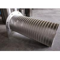 Buy cheap Reverse Slotted Wedge Wire Screen Pipe With High Temperature Resistance from wholesalers