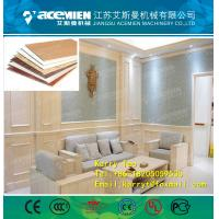 Buy cheap WPC Waterproof Eco-Friendly Texture Interior Decorative Wall Panels production line from wholesalers