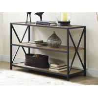 Buy cheap X Design Metal Frame Wooden Book Case With Shelves , Book Organizer Shelf from wholesalers