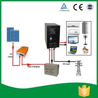 Buy cheap All In One Home Solar Power System , Solar Power Converter With AGM Battery from wholesalers