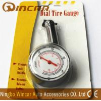 Buy cheap Plastic Body Digital Tire Air Pressure Gauge , Tire Gauge With Blister Card from wholesalers