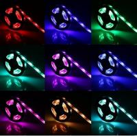 Buy cheap 4.5V AA battery powered 5050 RGB LED strip light 5V USB Powered RGB LED Strip product