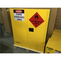 Buy cheap Australian Standard 60 Litre Lab Yellow Flammable Cabinet from wholesalers