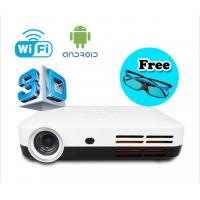 Buy cheap Wifi Android 4.2 1080p 3D Mini Projector Smart Full HD LED lamp DLP Projectors from wholesalers