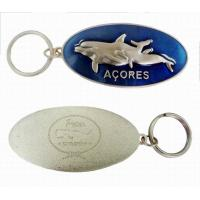 Buy cheap Metal Dolphins key chain, Zinc alloy Metal Keychains for Promotional and Souvenir from wholesalers