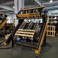 Buy cheap China Complete Pneumatic Blocks Wooden Pallet Nailing Equipment for 750-1300 Pallets Size from wholesalers