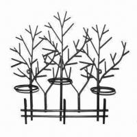 Buy cheap Metal Candle Holder, Customized Designs are Accepted from wholesalers
