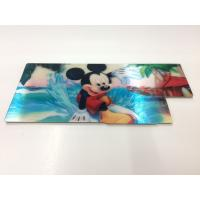 Buy cheap Customized Shape Die Cutting PP 3D Lenticular Stickers For Pencil Case ISO9001 from wholesalers