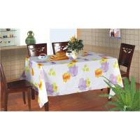 Buy cheap Flannel back table cloth from wholesalers