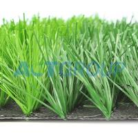 Buy cheap Low Maintenance Artificial Football Turf 50mm Abrasive Resistance For Futsal Courts from wholesalers