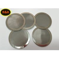 Buy cheap Plain / Twill Weave Round Fine Mesh Filter , Mesh Water Filters Stainless Steel from wholesalers