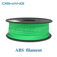 Buy cheap Green Flexible Consumables 3MM ABS Filament 1KG /Spool For MakerBot RepRap from wholesalers