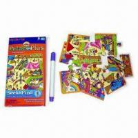 Buy cheap Jigsaw Puzzle with One Pen, Customized Designs and Logos are Welcome from wholesalers