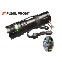 Buy cheap 1000LMs CREE XM-L T6 Zoom LED Flashlight with Clip for Outdoor Night Ride, Walk from wholesalers