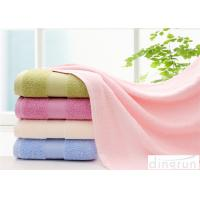 Buy cheap Comfortable Satin Cotton Bath Towels For Hotel / Home 400-600gsm from wholesalers