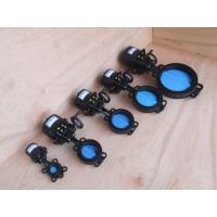 Buy cheap Wafer   Electric Butterfly Valve , DN50 DN65 DN80   Electrically Operated Butterfly Valve from wholesalers