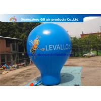 Buy cheap 6m High Blue Giant Inflatable Advertising Balloon For Music Concerts product