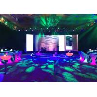 Buy cheap HD Full Color Rental LED Displays For Indoor And Outdoor Stage Backdrop from wholesalers