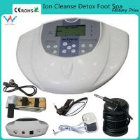 Buy cheap ion cell cleanse therapy foot bath cleanse ionic cell detox machine from wholesalers