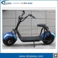 Buy cheap double airbag rear shock absorber 2 wheels Electric Motorcycles citycoco scooter from wholesalers