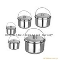 Buy cheap 4 pcs stainless steel stock pot from wholesalers