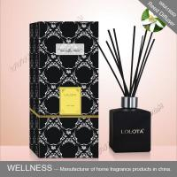 Buy cheap Black Square Home Reed Diffuser No Flame Fresh Smelling For Room Fragrance product