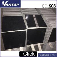 Buy cheap 305x305mm Mirror Black Color Quartz Stone Tiles for Wall Cladding from wholesalers