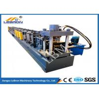 Buy cheap PLC Control Automatic Storage Rack Roll Forming Machine Durable Long Service Time from wholesalers