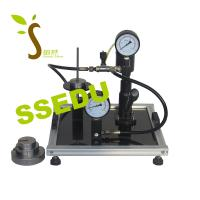 Buy cheap Educational Equipment Technical Teaching Equipment Dead Weight Pressure Gauge Calibrator from wholesalers