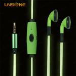 Buy cheap 3.5mm led light in-ear cheap earphone from wholesalers