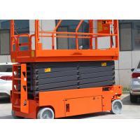 Buy cheap Folding Rails Electric Aerial Work Platform 11.8m Steel Lifting Platforms Equipment product