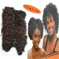 Buy cheap African Short Curly Synthetic Hair GOLD TONI Style Hair wave from wholesalers